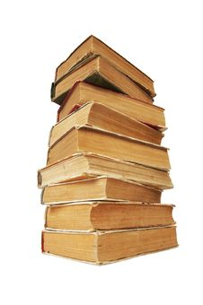 Free Pile Of Old Books Stock Images - 14536144