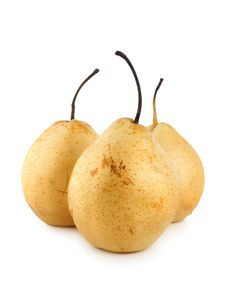 Free Three Pears Stock Photo - 14536160