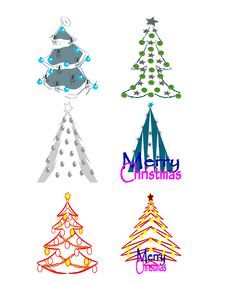 Free Christmas Trees Stock Photos - 14536523