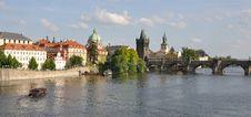 Free Charles Bridge, Prague Royalty Free Stock Photo - 14536555