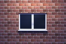 Free Window On A Brick Wall Royalty Free Stock Images - 14536949