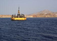 Free Buoy Near The Island Of Tiran. Stock Photo - 14538000