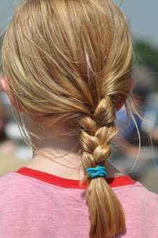 Free Blonde Braided Hair Royalty Free Stock Images - 14538559
