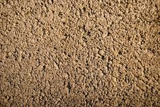 Sand Wall Royalty Free Stock Image