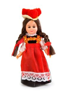 Free Doll In The German National Costume Stock Photography - 14538732