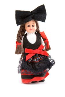 Doll In National Costume Stock Photography