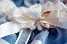 Free Wedding Rings Royalty Free Stock Photography - 14538987