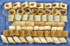 Free Baklava - Traditional Arabic Dessert Royalty Free Stock Image - 14539416