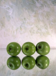 Free Green Apples Stock Photos - 14539853