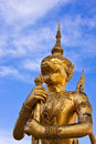 Free Golden Legend Monster, Thailand S Grand Palace Stock Photo - 14546790