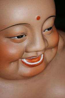 Laughing Buddha Maitreya Royalty Free Stock Photo