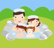 Free Family Spa Stock Photos - 14544033