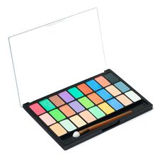 Colorful Palette For Makeup Stock Image