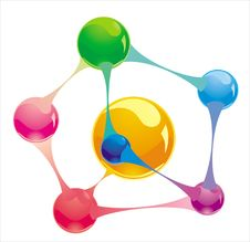 Free Molecule Stock Image - 14544421