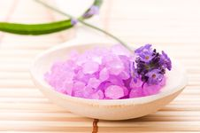 Free Lavender Bath Stock Photos - 14544683