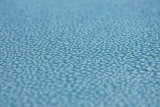 Free Dew Drops On Blue Metallic Surface Stock Images - 14545174