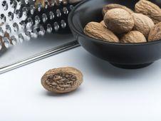 Free Nutmegs Royalty Free Stock Image - 14545426