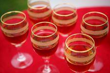 Free Wine Glasses Royalty Free Stock Photo - 14545445