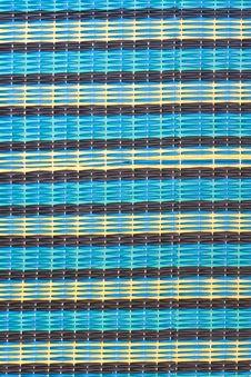 Pattern Of Thai Style Mat Woven Stock Photo