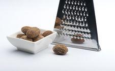 Free Nutmegs Royalty Free Stock Image - 14545526