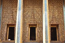 Free Temple S Wall In Thailand S Grand Palace Royalty Free Stock Photo - 14546205
