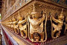 Garuda At Temple S Base, Thailand S Grand Palace Stock Photography