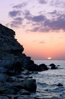 Free Beatifull Sunset Royalty Free Stock Photo - 14546435