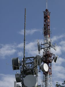 Radio Antenna Royalty Free Stock Images