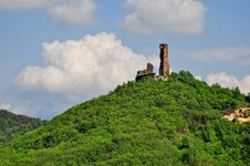 Free View Of Battifollo S Castle Royalty Free Stock Photos - 14547298