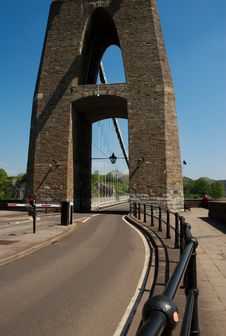 Free Roadway, Clifton Suspension Bridge,England Stock Images - 14547754