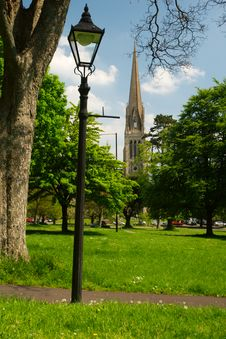 Free Lamp And Steeple, Bristol, England Stock Photos - 14547793