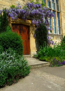 Free Cotswold Door, Chipping Camden Stock Photo - 14547900