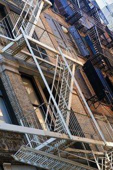 Free Fire Escapes Stock Photos - 14548593