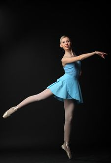 Free Dancing Ballerina Royalty Free Stock Image - 14548616