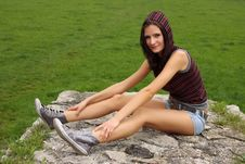 Free Casual Teenager Outdoor Stock Image - 14548691
