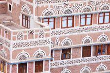Free Traditional Yemeni House Stock Photo - 14549080