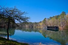 Free Blue Sky Reflections Royalty Free Stock Photography - 14549147