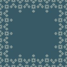 Free Retro Floral Seamless Background Stock Photography - 14549352