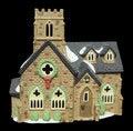 Free Miniature Christmas Church Stock Image - 14554701