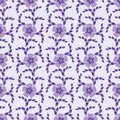 Free Purple Seamless Ornate Floral Background Royalty Free Stock Photo - 14555565
