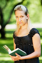 Free Girl With Book Stock Photography - 14555642