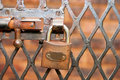 Free Latch And Padlock Royalty Free Stock Photography - 14557137