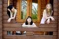 Free Three Female Friends Stock Photo - 14558800