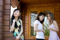 Free Three Female Friends Royalty Free Stock Photography - 14558957