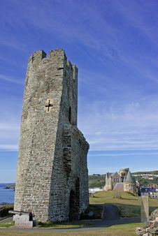 Free Aber Castle 1 Royalty Free Stock Photo - 14550045
