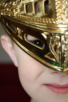 Free Young Warrior Royalty Free Stock Photo - 14550395