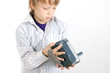 Free Boy Looking To Camera Royalty Free Stock Photography - 14550557
