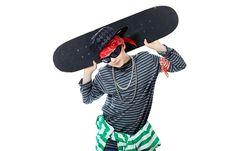 Free Skateboard Royalty Free Stock Photography - 14551047
