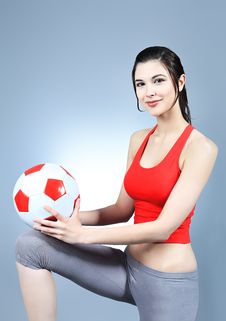 Free Sporty Girl Stock Photos - 14551123