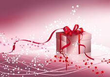Free Box With Bow Stock Photography - 14551192